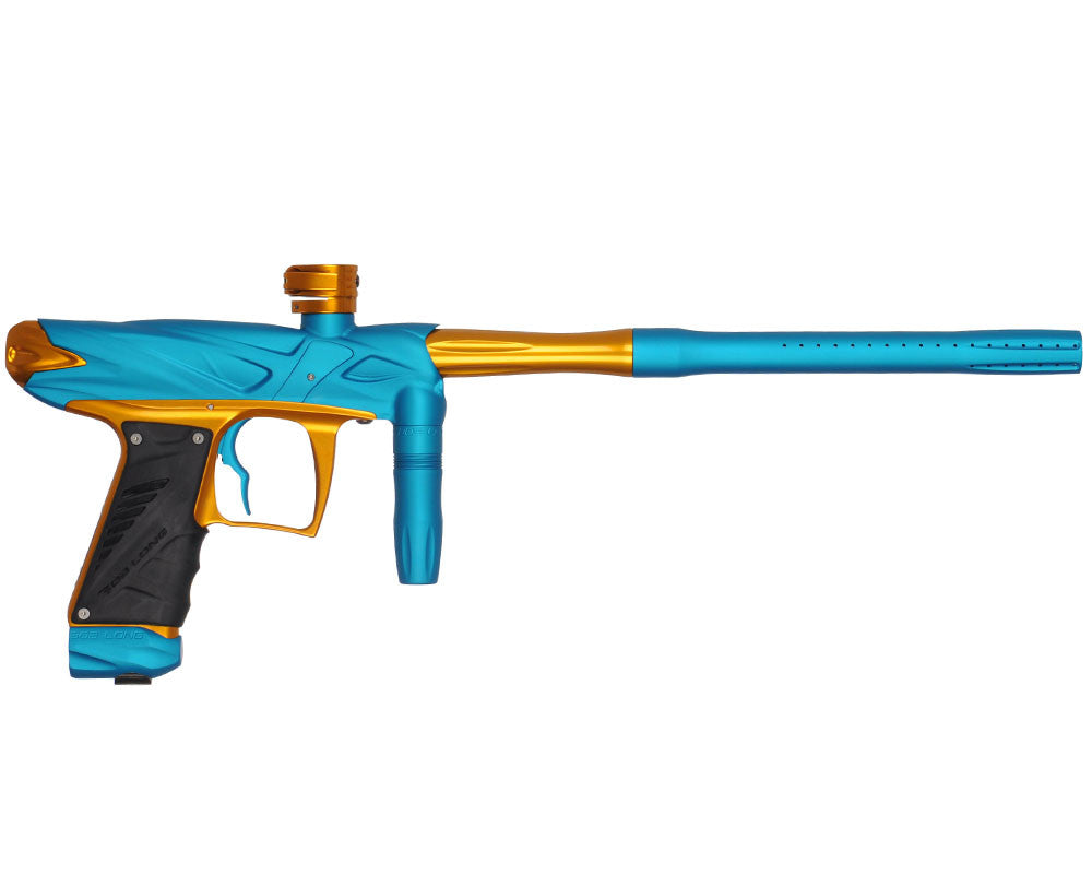 Bob Long Onslaught Paintball Gun - Dust Teal/Gold