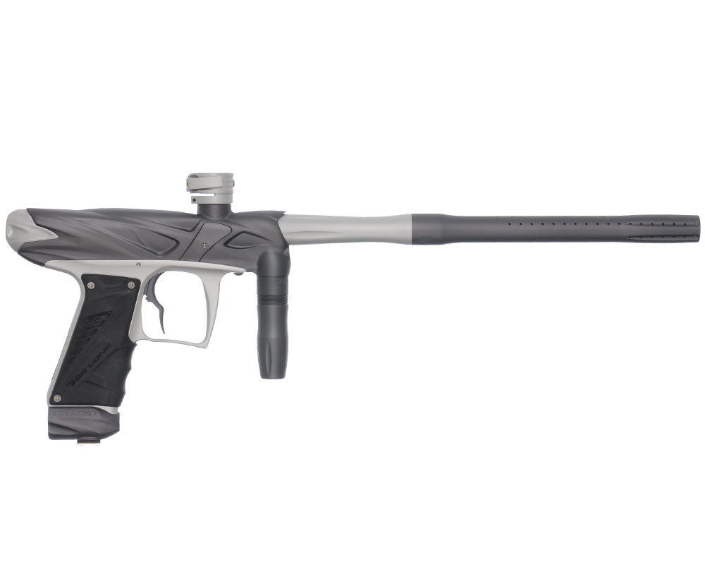 Bob Long Onslaught Paintball Gun - Dust Titanium/Dust White