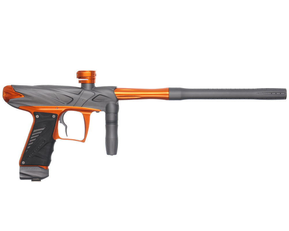 Bob Long Onslaught Paintball Gun - Dust Titanium/Orange