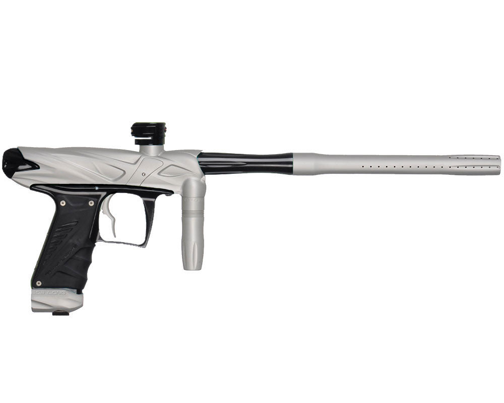 Bob Long Onslaught Paintball Gun - Dust White/Black