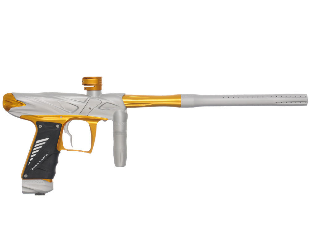 Bob Long Onslaught Paintball Gun - Dust White/Gold