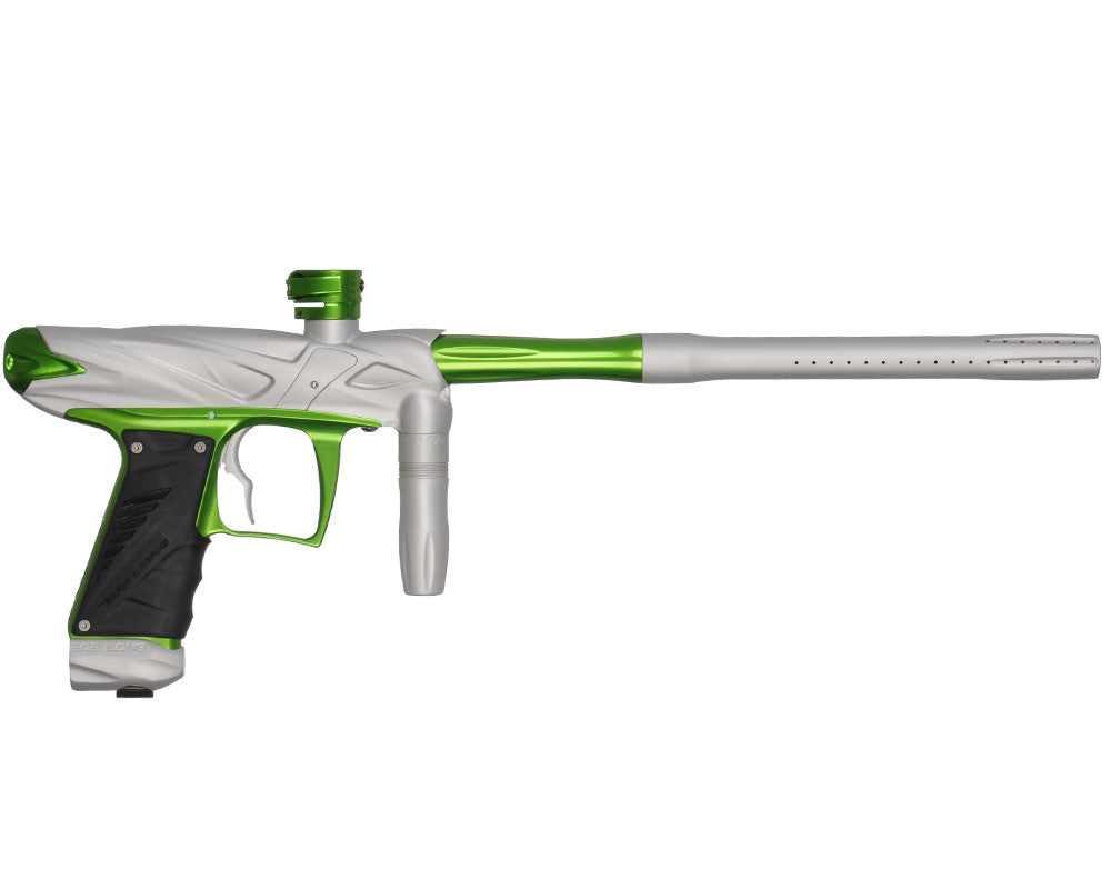 Bob Long Onslaught Paintball Gun - Dust White/Lime