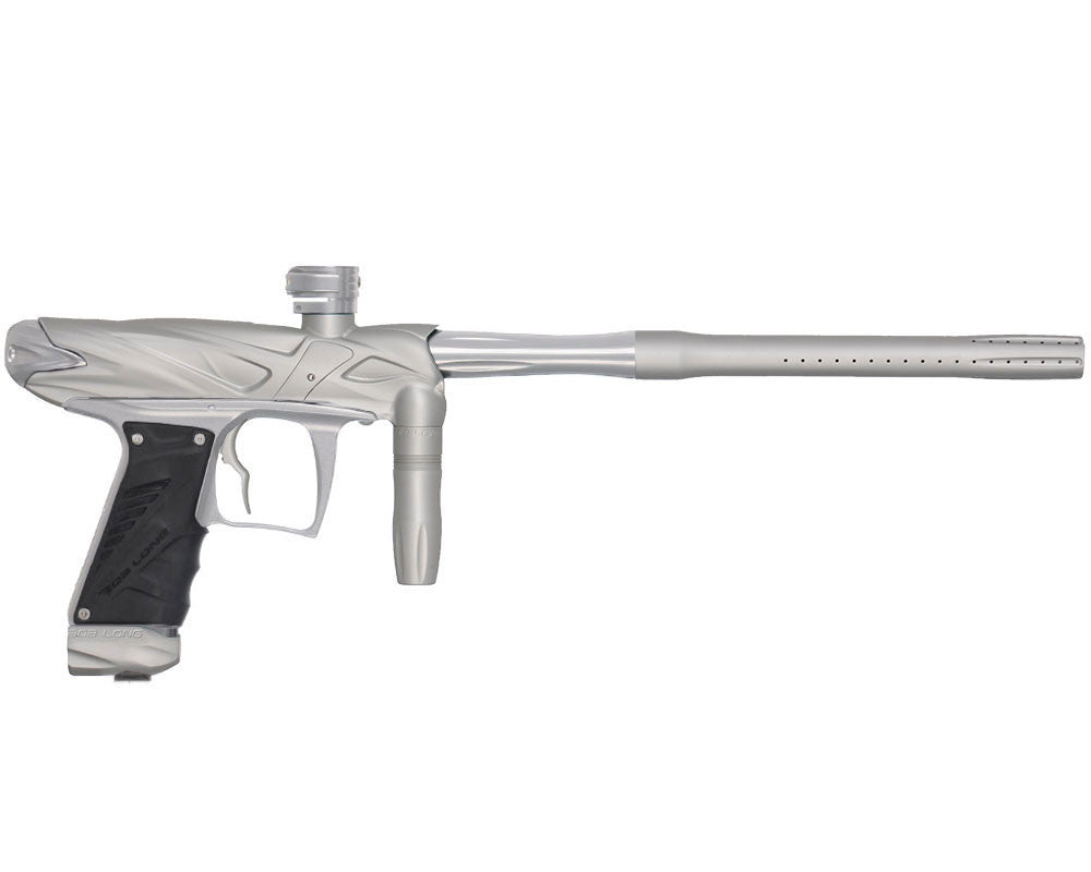 Bob Long Onslaught Paintball Gun - Dust White/Silver
