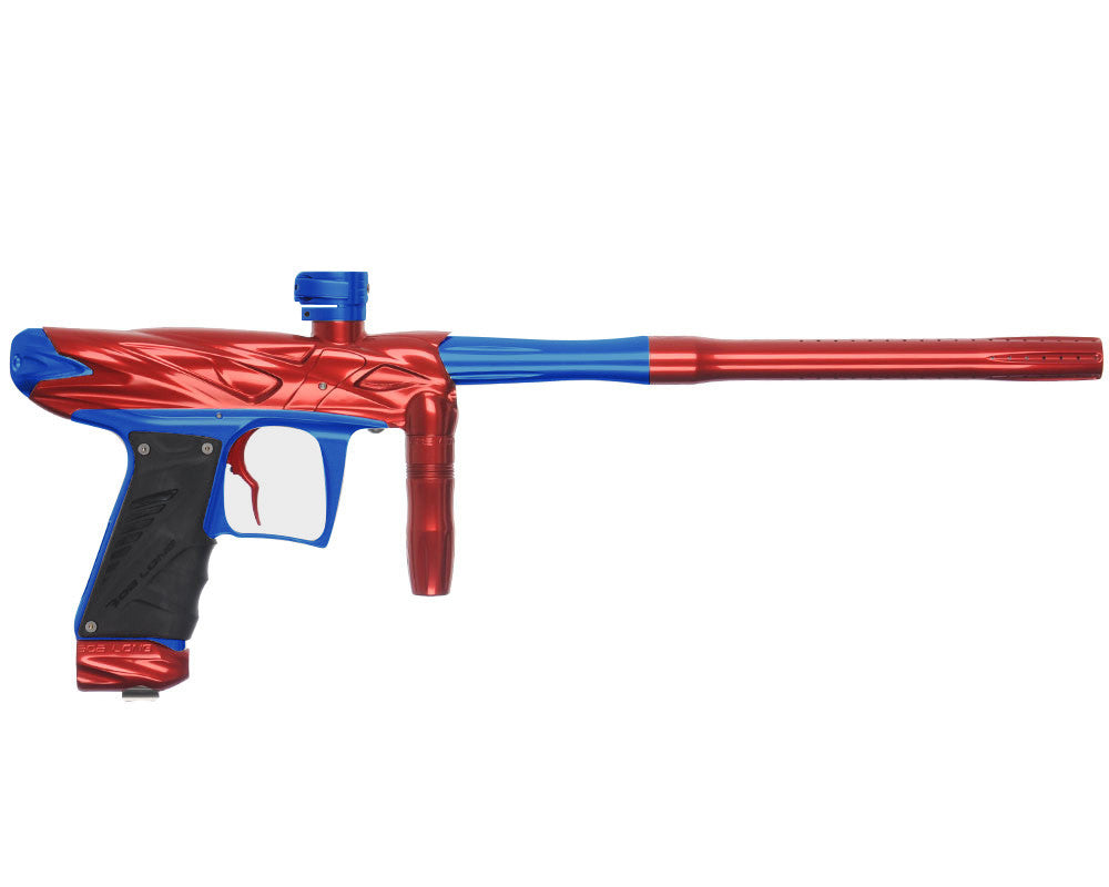Bob Long Onslaught Paintball Gun - Red/Blue