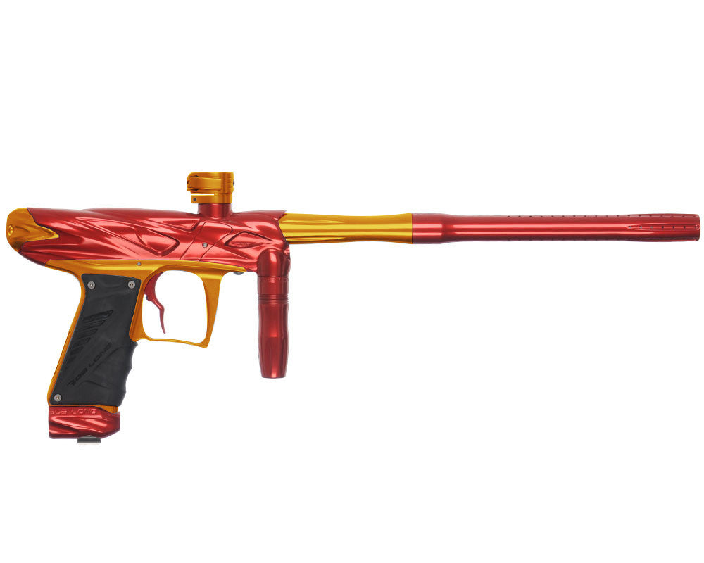 Bob Long Onslaught Paintball Gun - Red/Gold