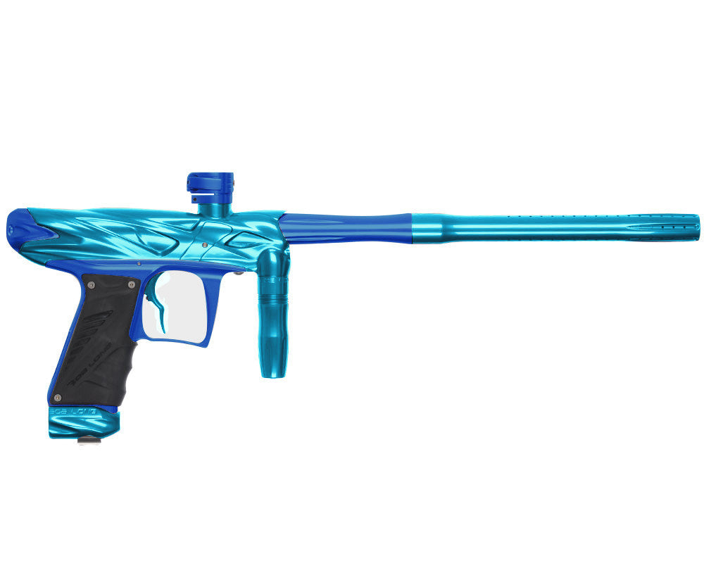 Bob Long Onslaught Paintball Gun - Teal/Blue