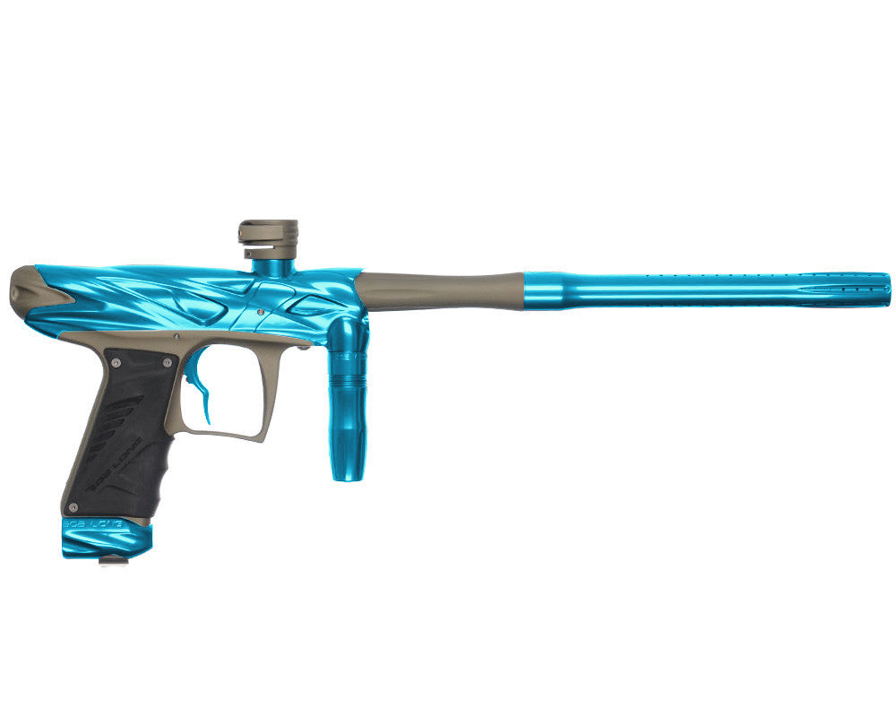 Bob Long Onslaught Paintball Gun - Teal/Dust Khaki