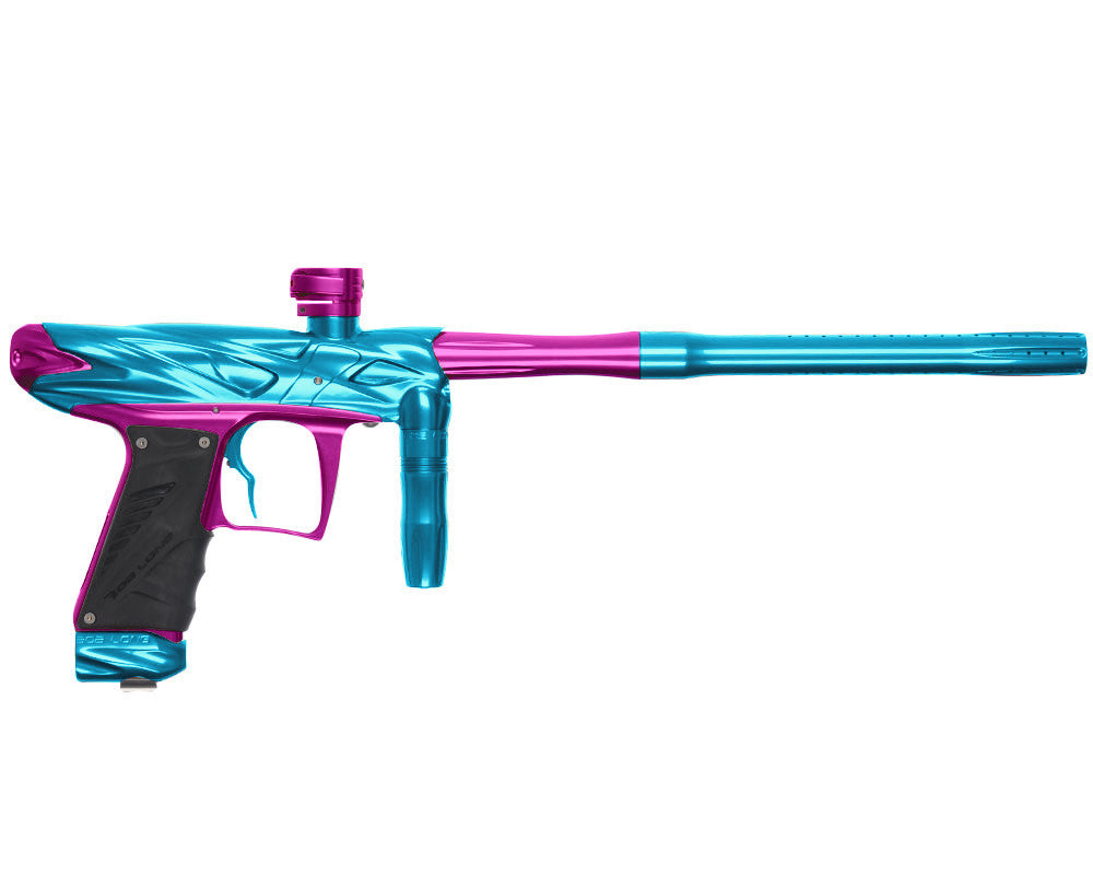 Bob Long Onslaught Paintball Gun - Teal/Purple