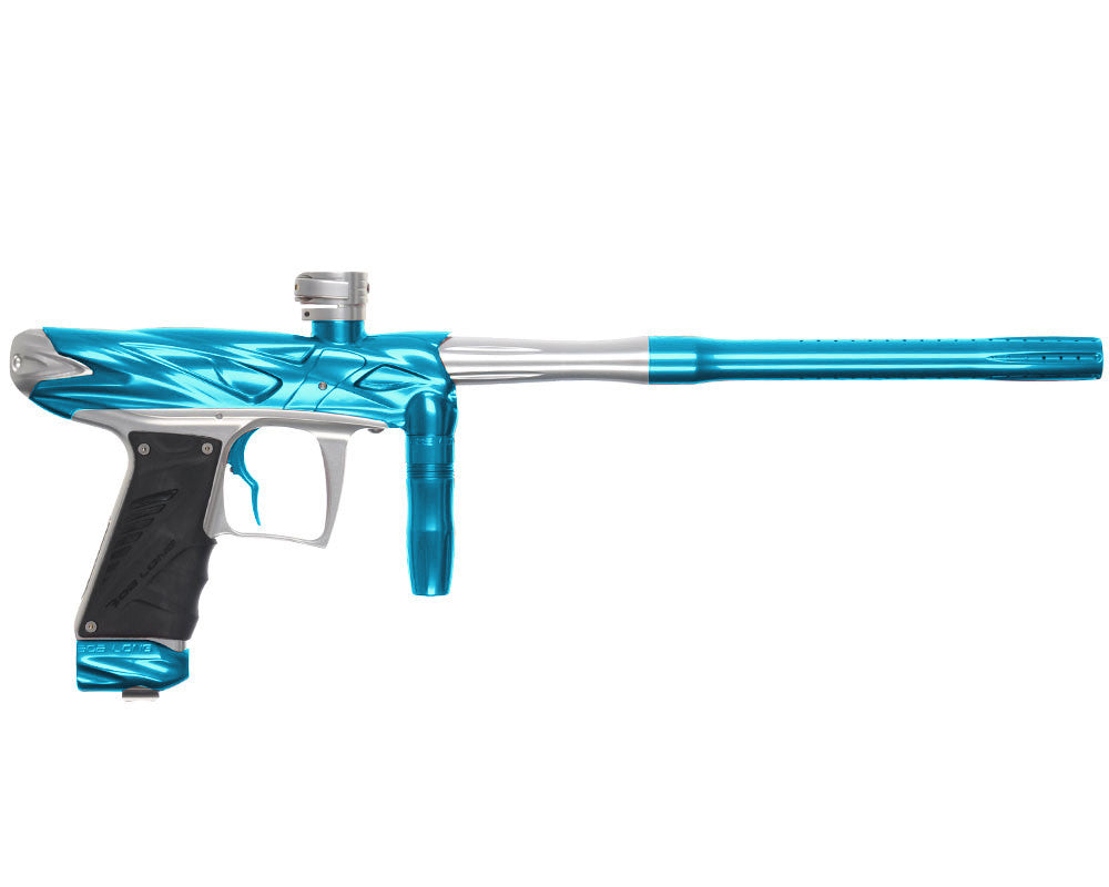 Bob Long Onslaught Paintball Gun - Teal/Silver