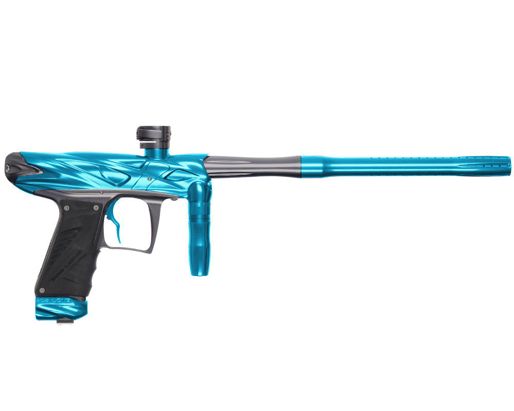 Bob Long Onslaught Paintball Gun - Teal/Titanium