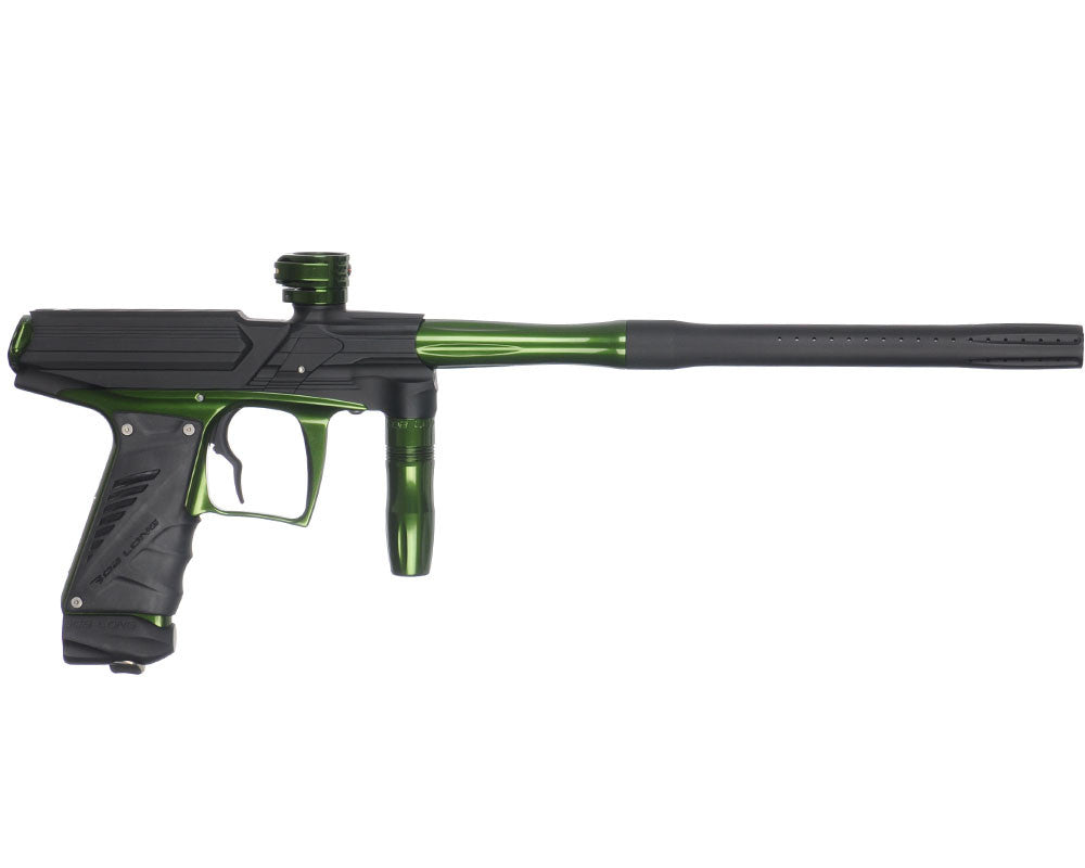 Bob Long Phase Premium Paintball Gun - Dust Black/Army Green