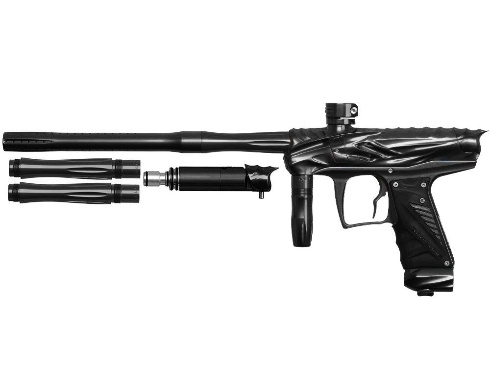 Bob Long Reptile VIS Paintball Gun - Black/Black