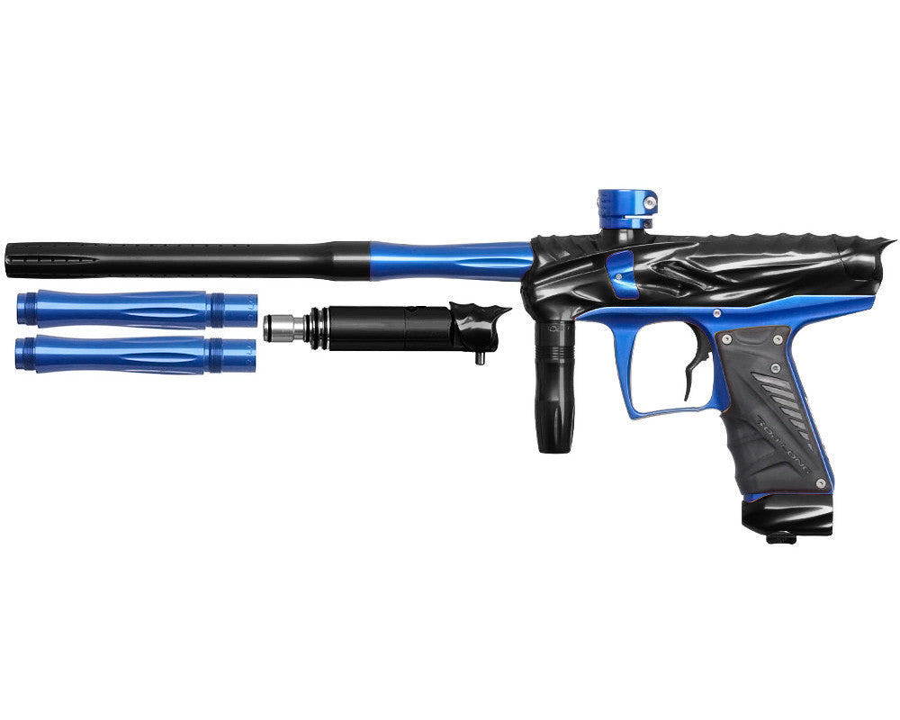 Bob Long Reptile VIS Paintball Gun - Black/Blue