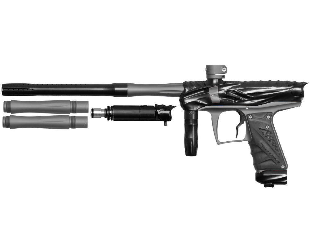 Bob Long Reptile VIS Paintball Gun - Black/Dust Titanium