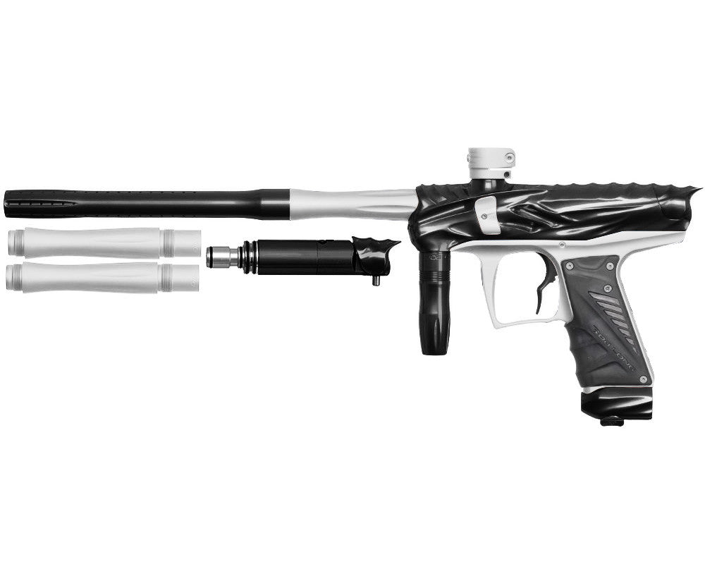 Bob Long Reptile VIS Paintball Gun - Black/Dust White