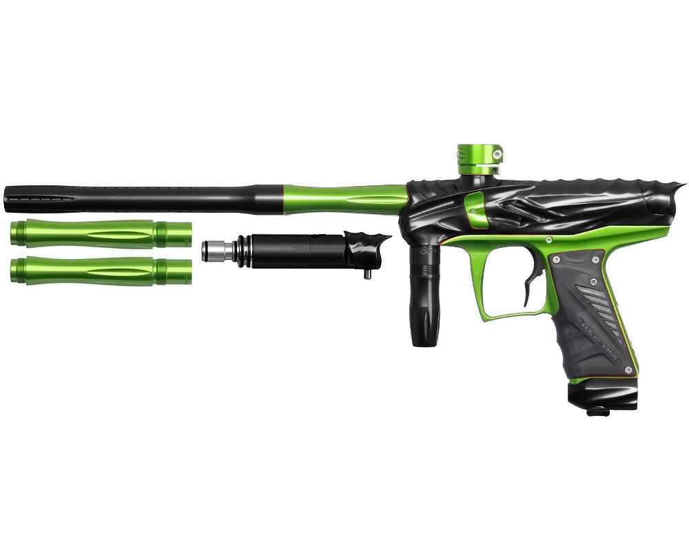 Bob Long Reptile VIS Paintball Gun - Black/Lime