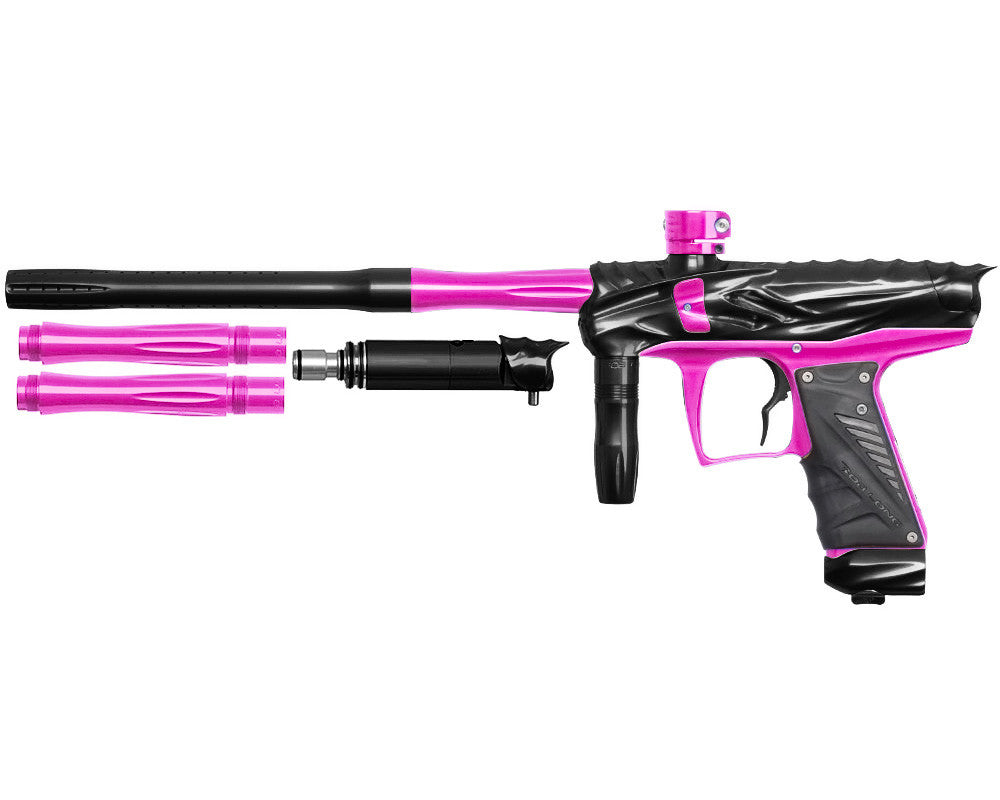 Bob Long Reptile VIS Paintball Gun - Black/Pink