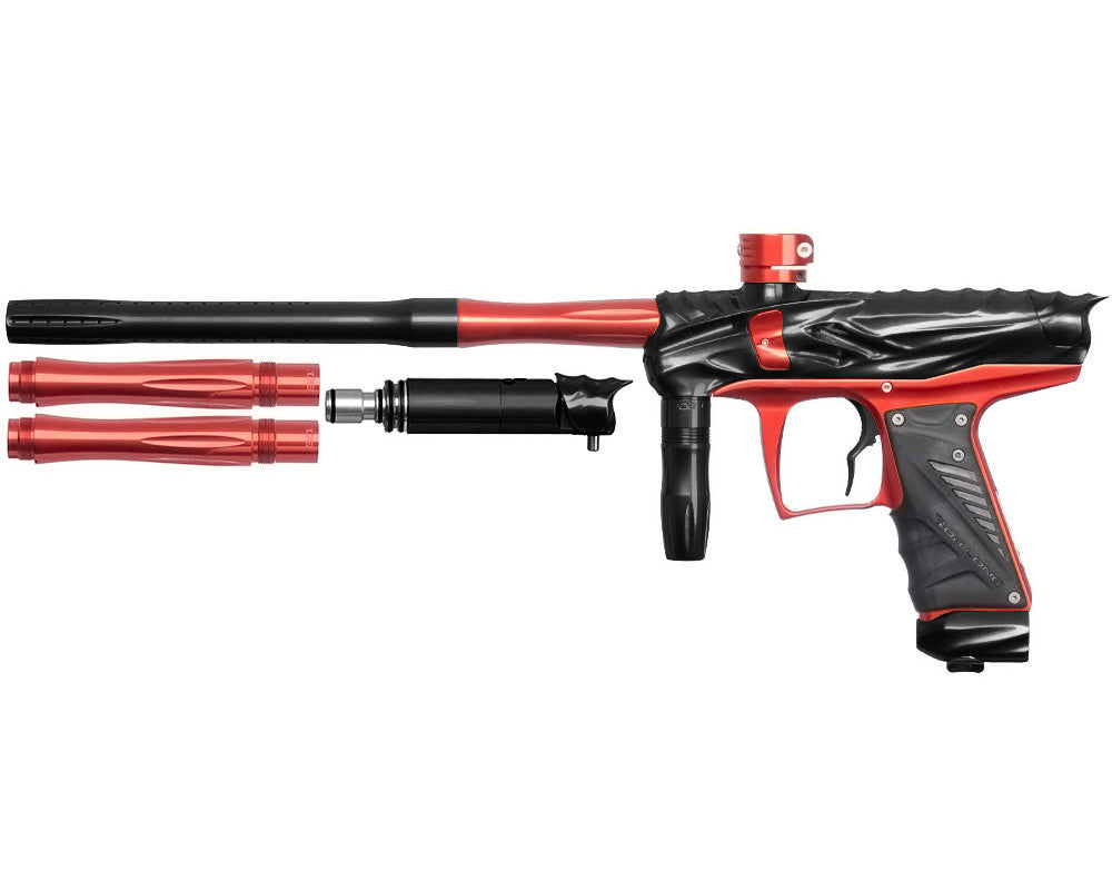 Bob Long Reptile VIS Paintball Gun - Black/Red