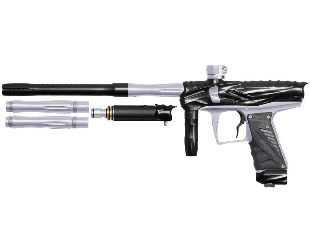 Bob Long Reptile VIS Paintball Gun - Black/Silver