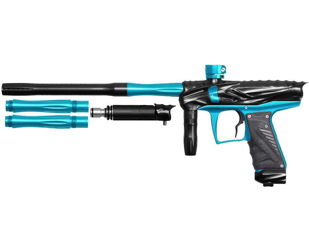Bob Long Reptile VIS Paintball Gun - Black/Teal