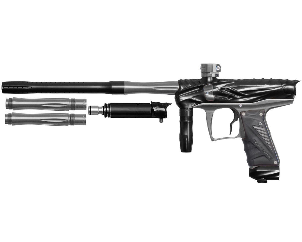 Bob Long Reptile VIS Paintball Gun - Black/Titanium