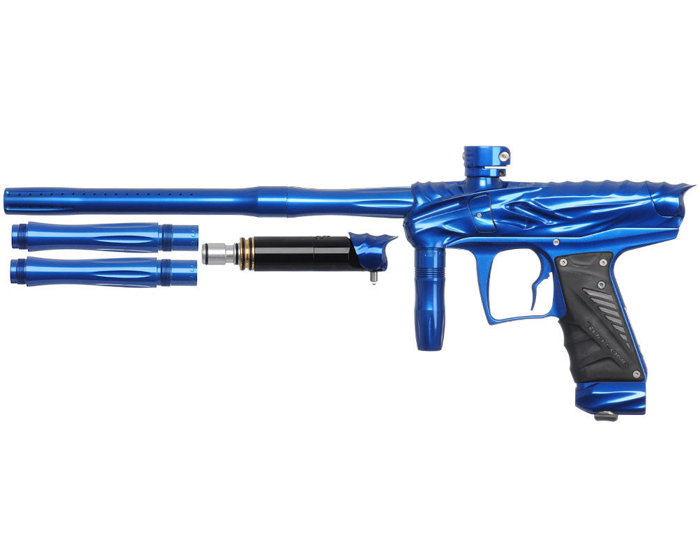 Bob Long Reptile VIS Paintball Gun - Blue/Blue