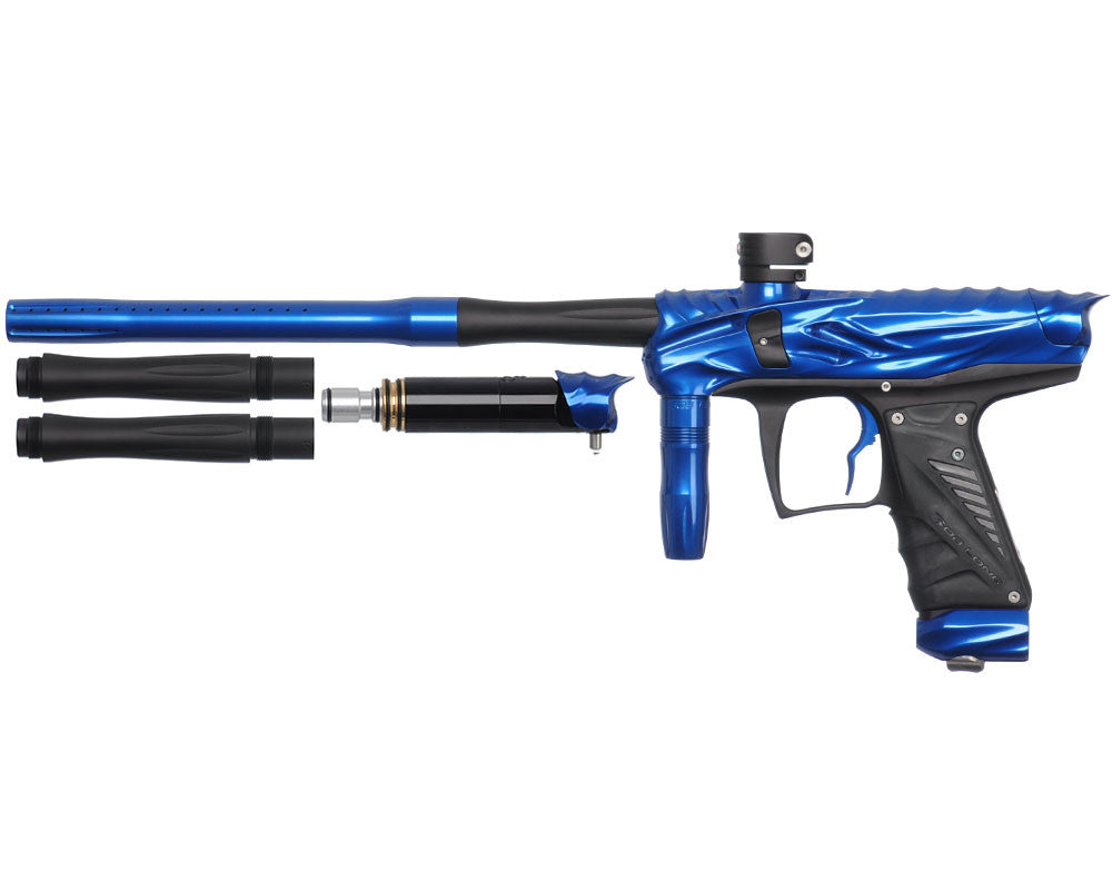 Bob Long Reptile VIS Paintball Gun - Blue/Dust Black