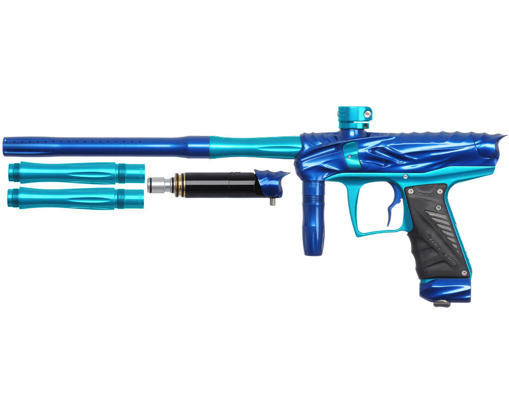 Bob Long Reptile VIS Paintball Gun - Blue/Teal