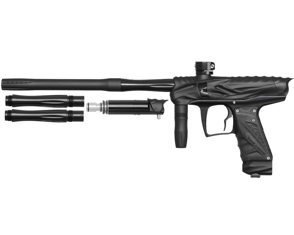 Bob Long Reptile VIS Paintball Gun - Dust Black/Black