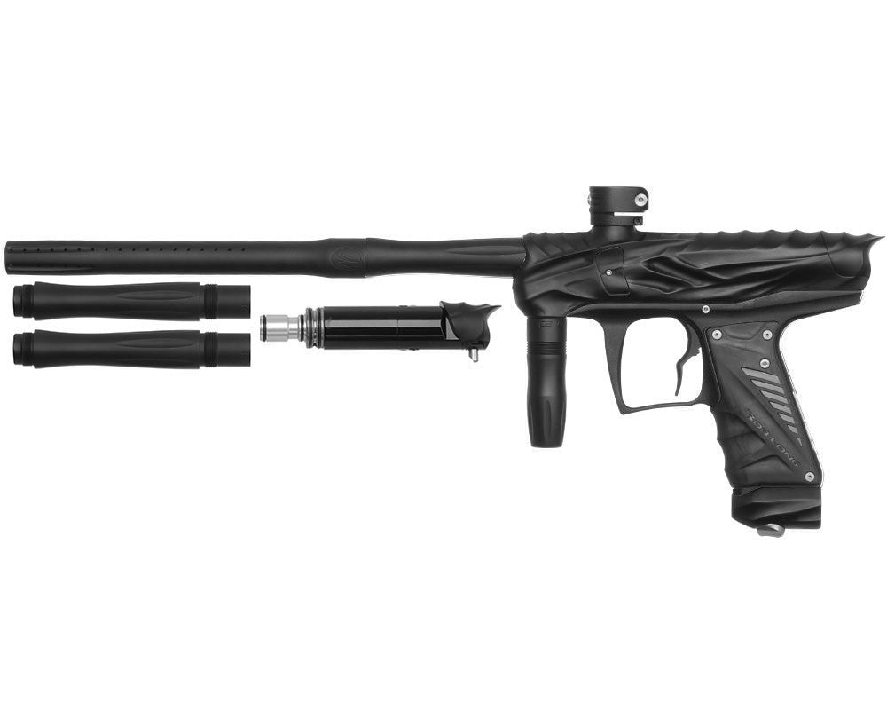 Bob Long Reptile VIS Paintball Gun - Dust Black/Dust Black