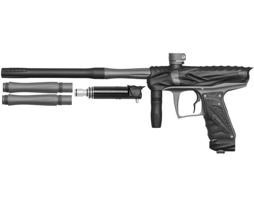 Bob Long Reptile VIS Paintball Gun - Dust Black/Dust Titanium