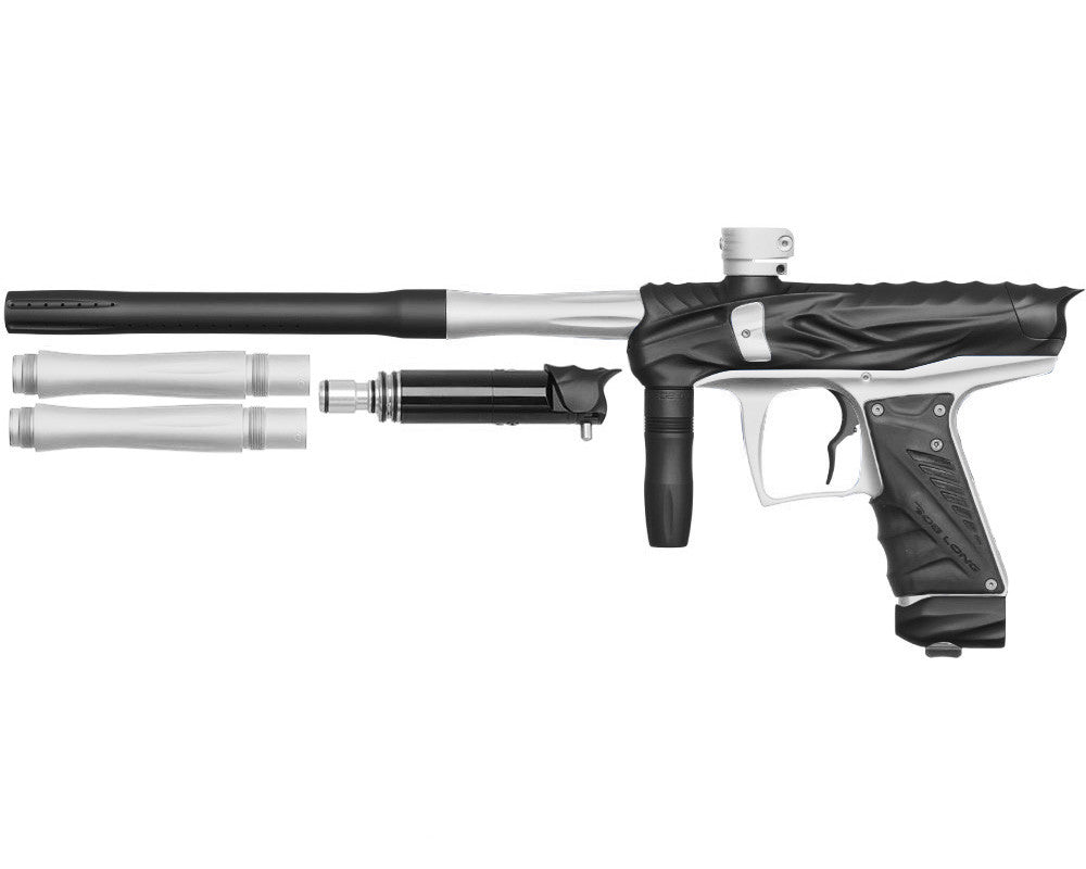 Bob Long Reptile VIS Paintball Gun - Dust Black/Dust White