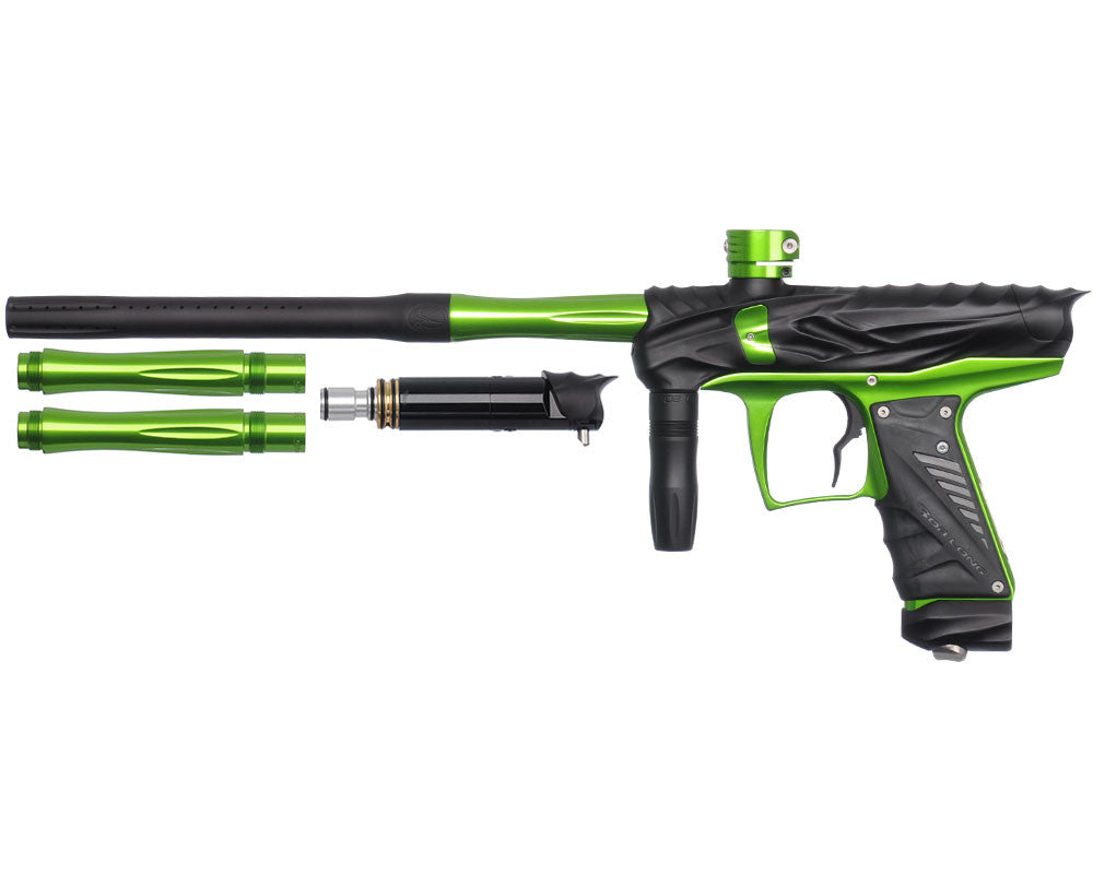 Bob Long Reptile VIS Paintball Gun - Dust Black/Lime