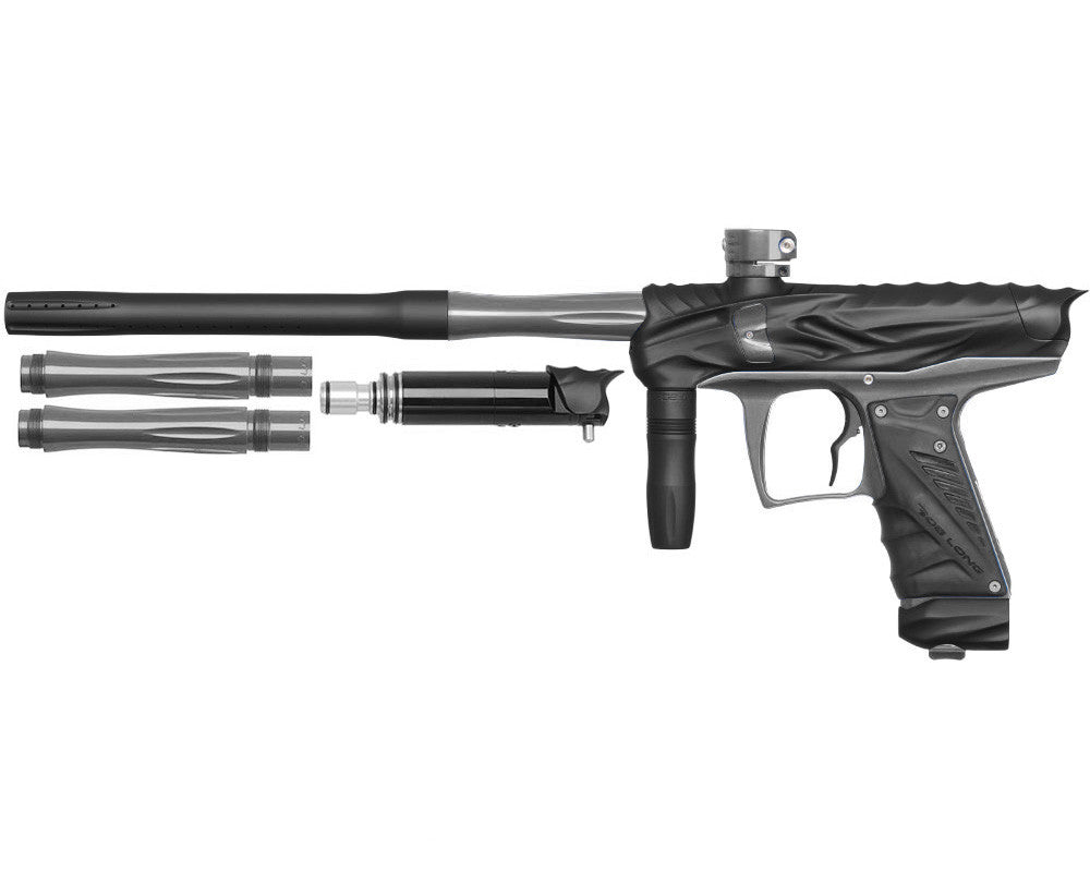 Bob Long Reptile VIS Paintball Gun - Dust Black/Titanium