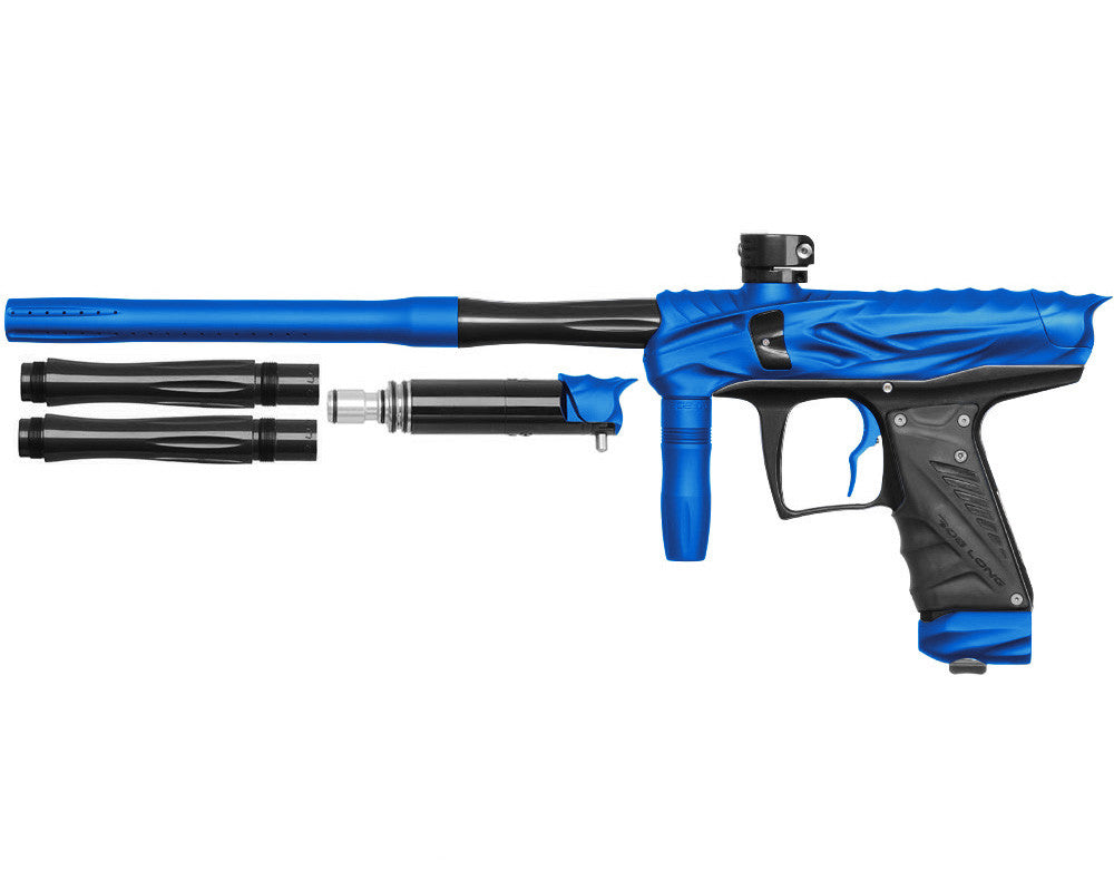 Bob Long Reptile VIS Paintball Gun - Dust Blue/Black