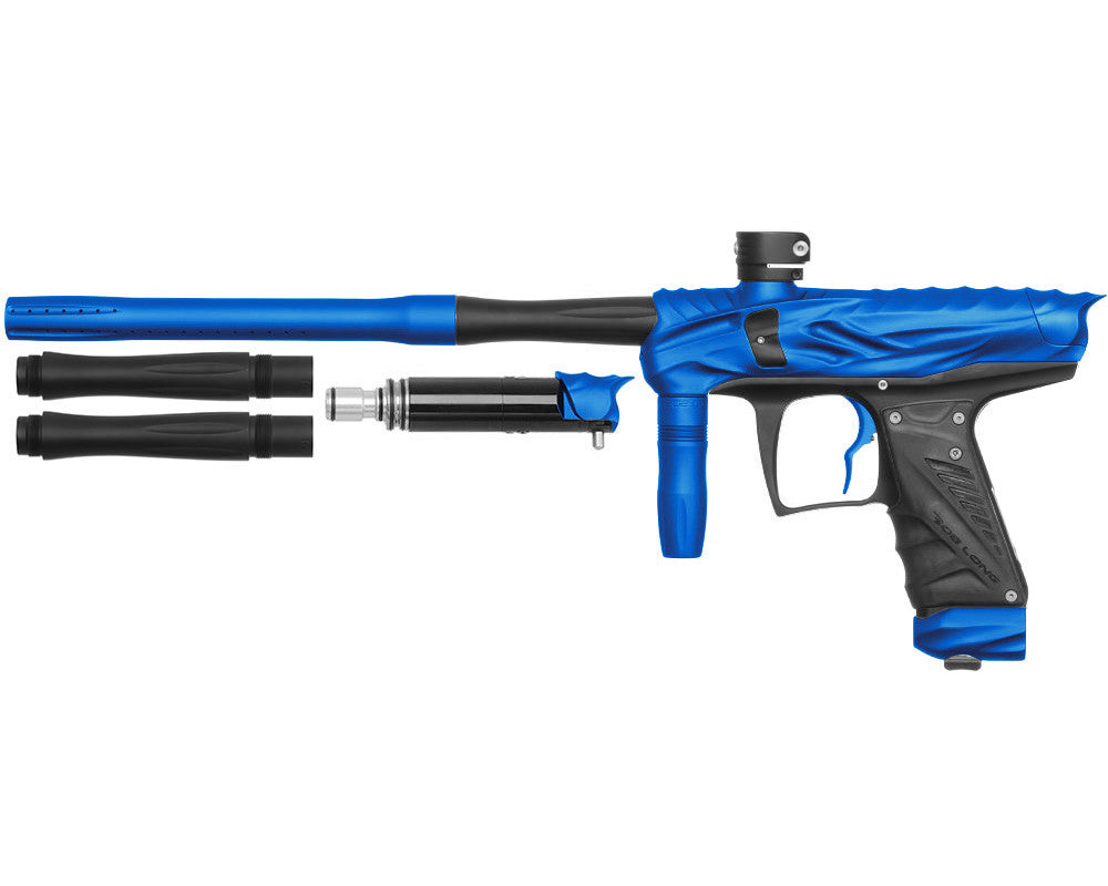 Bob Long Reptile VIS Paintball Gun - Dust Blue/Dust Black