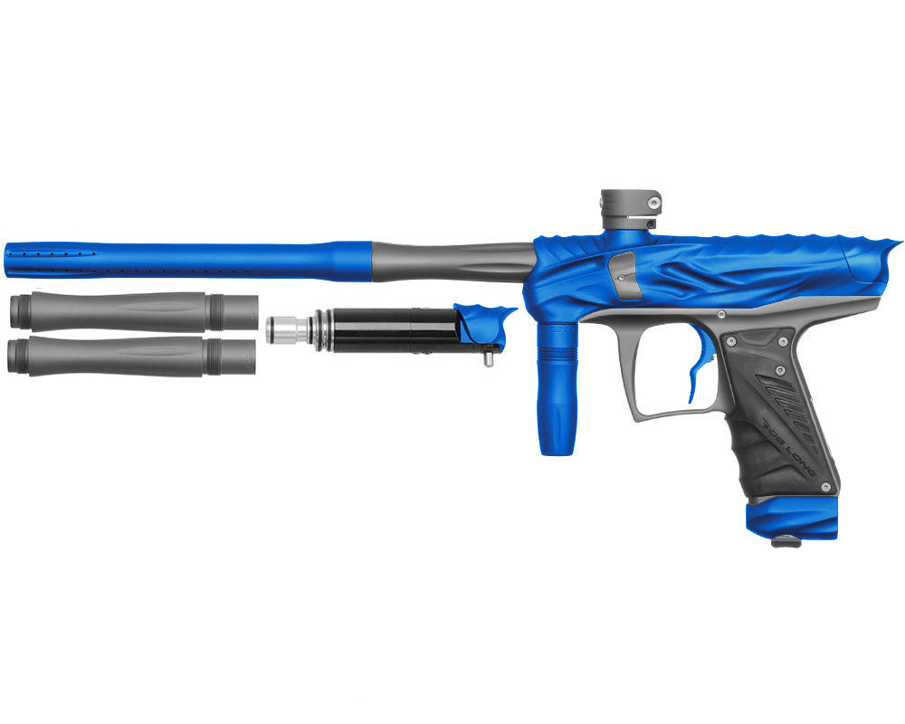Bob Long Reptile VIS Paintball Gun - Dust Blue/Dust Titanium