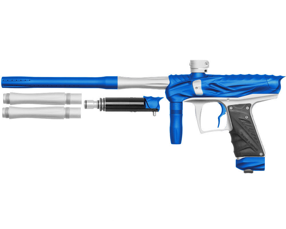 Bob Long Reptile VIS Paintball Gun - Dust Blue/Dust White