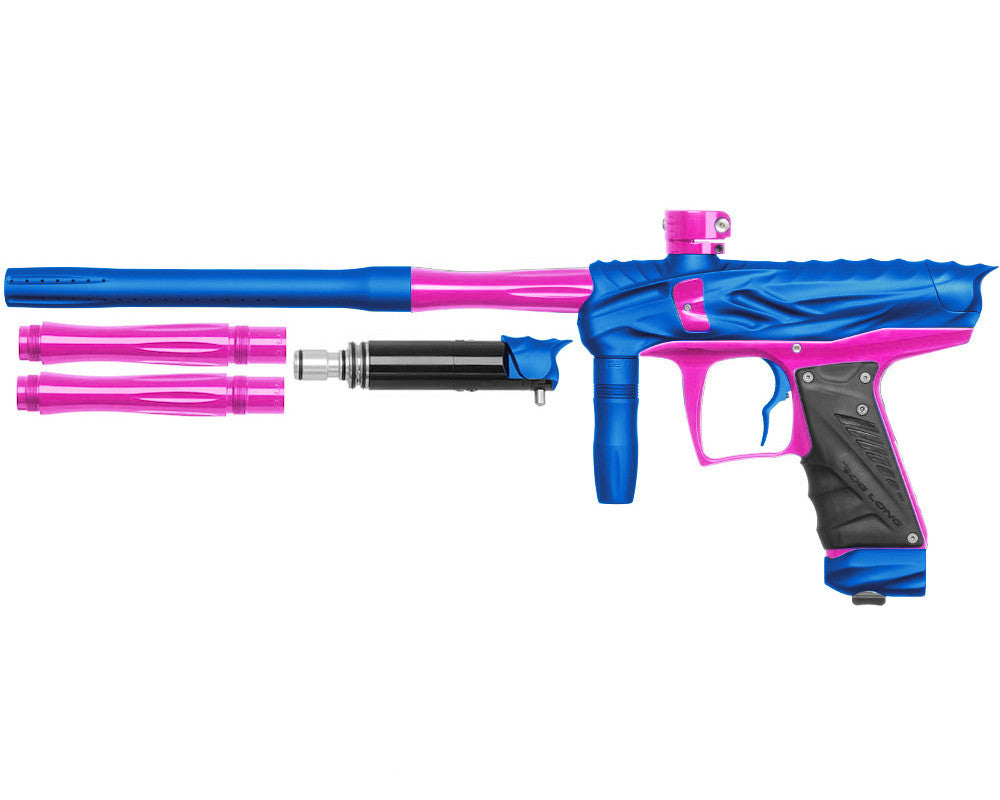 Bob Long Reptile VIS Paintball Gun - Dust Blue/Pink