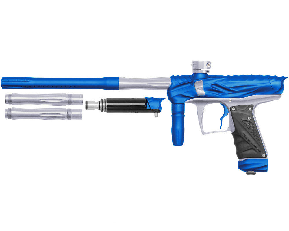 Bob Long Reptile VIS Paintball Gun - Dust Blue/Silver