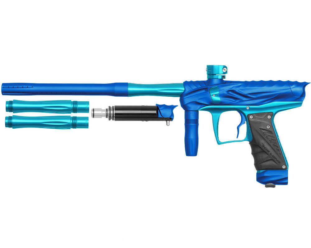 Bob Long Reptile VIS Paintball Gun - Dust Blue/Teal