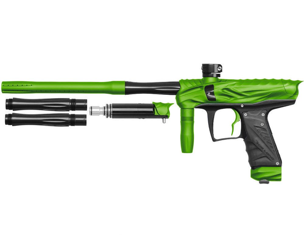 Bob Long Reptile VIS Paintball Gun - Dust Lime/Black