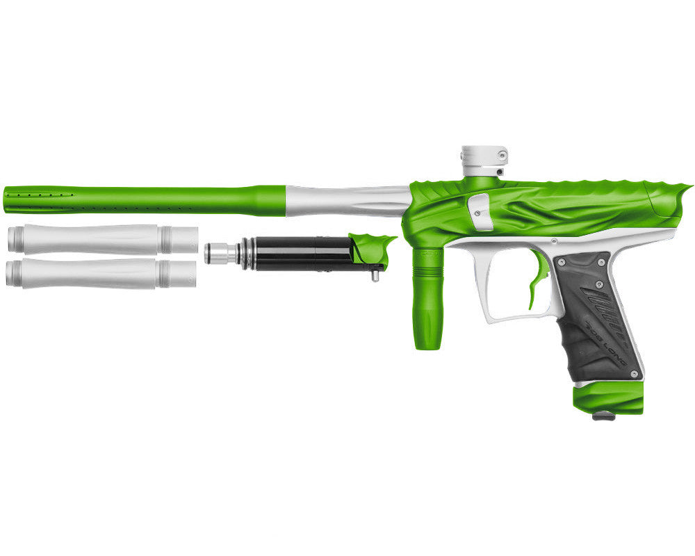 Bob Long Reptile VIS Paintball Gun - Dust Lime/Dust White