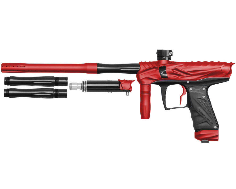 Bob Long Reptile VIS Paintball Gun - Dust Red/Black