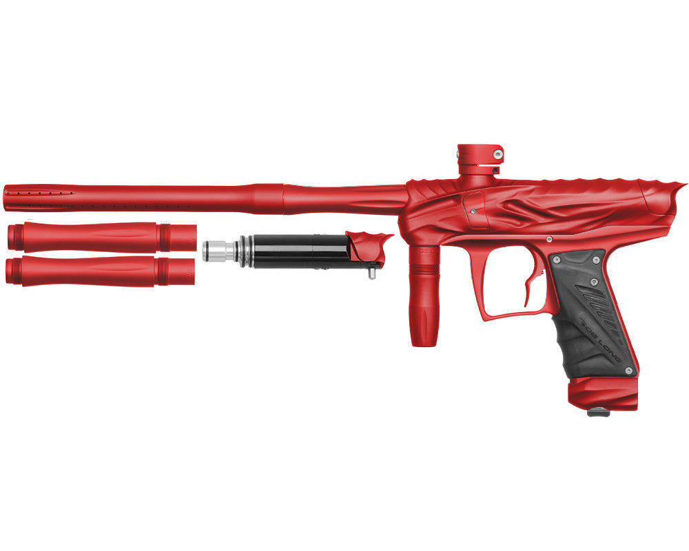 Bob Long Reptile VIS Paintball Gun - Dust Red/Dust Red