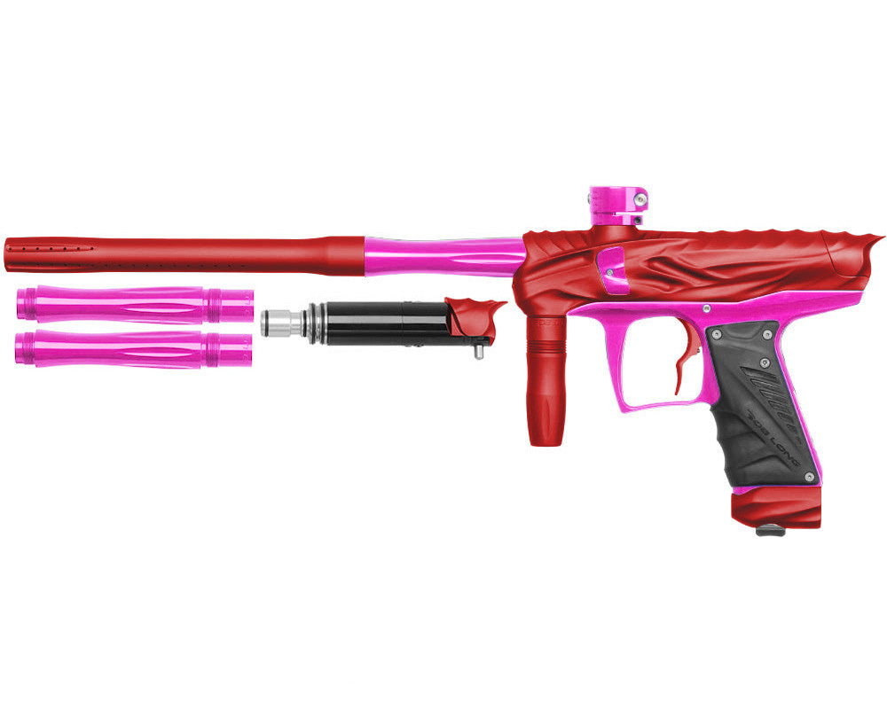 Bob Long Reptile VIS Paintball Gun - Dust Red/Pink