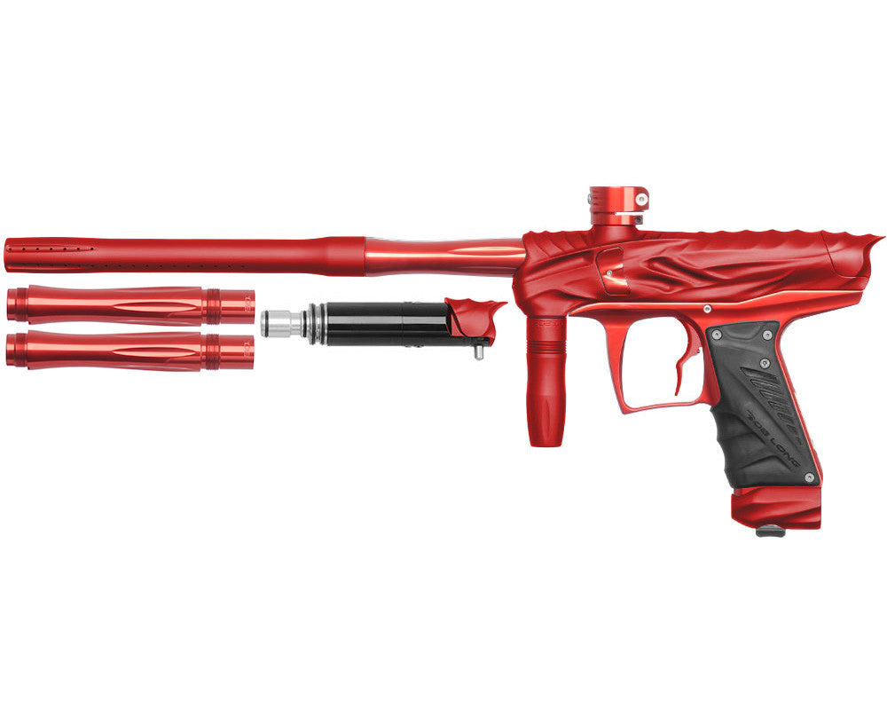 Bob Long Reptile VIS Paintball Gun - Dust Red/Red