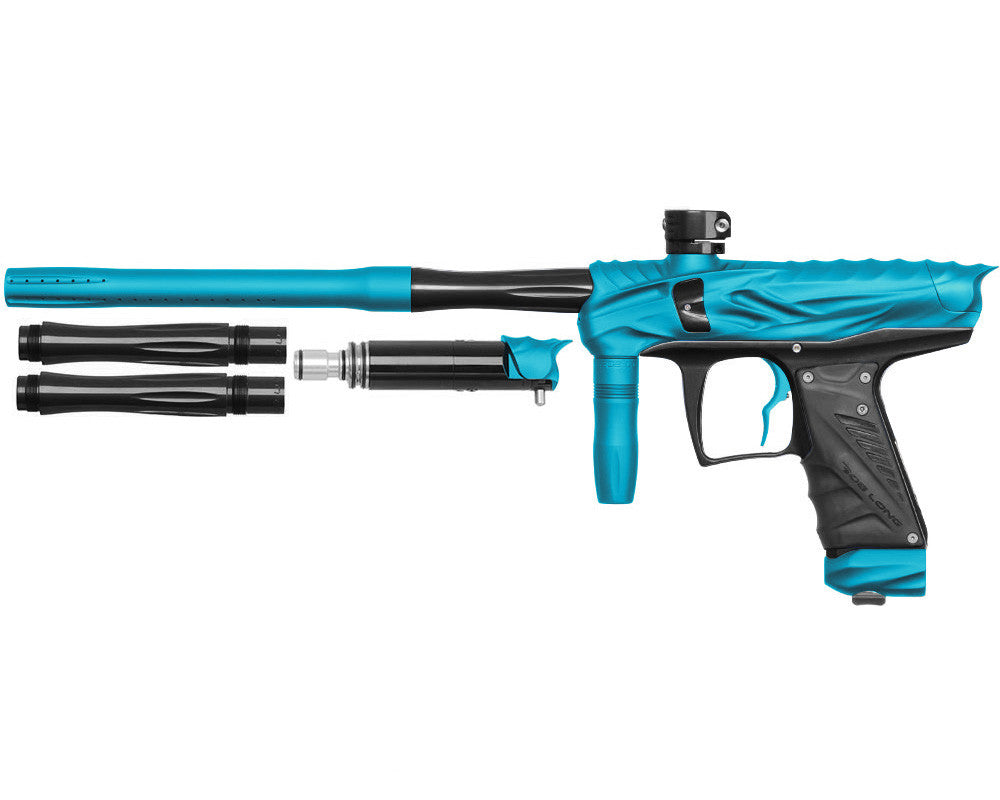 Bob Long Reptile VIS Paintball Gun - Dust Teal/Black