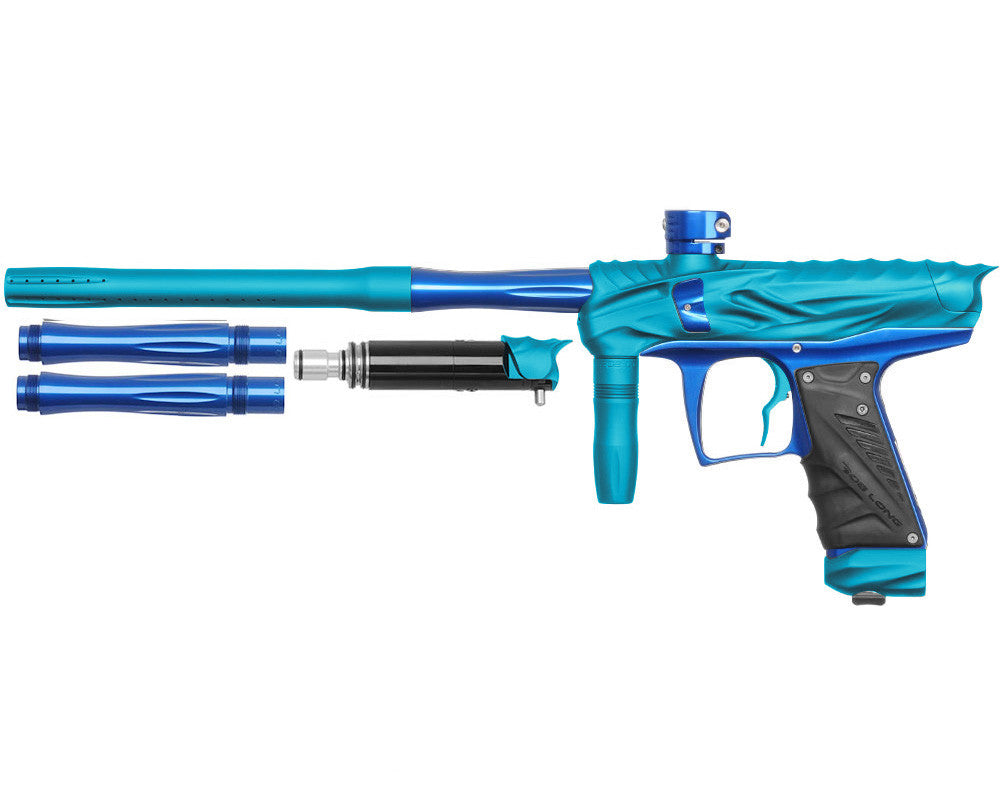 Bob Long Reptile VIS Paintball Gun - Dust Teal/Blue