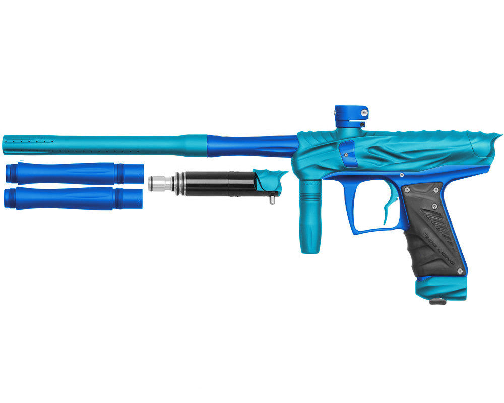 Bob Long Reptile VIS Paintball Gun - Dust Teal/Dust Blue